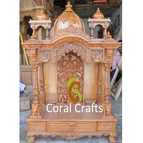 Wooden Temple for Puja