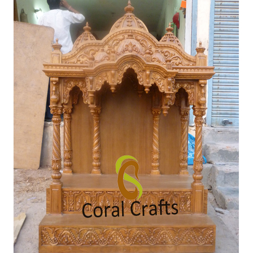 Carved Traditional Hindu Temple