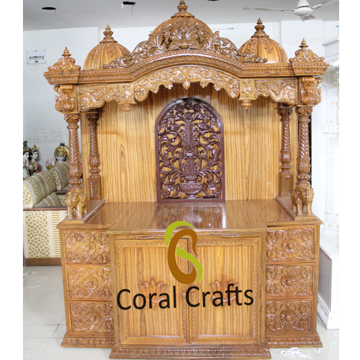 Hindu Traditional Carved Mandapam