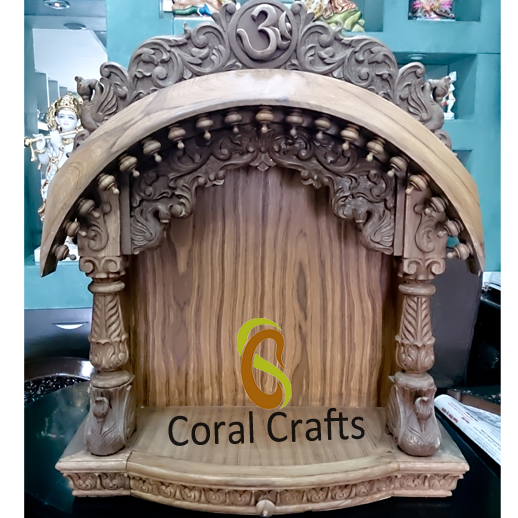 Exquisite Wall Hanging Temple for Home