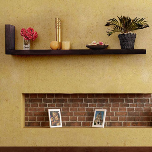 Beautiful Wooden Wall Decor Shelf